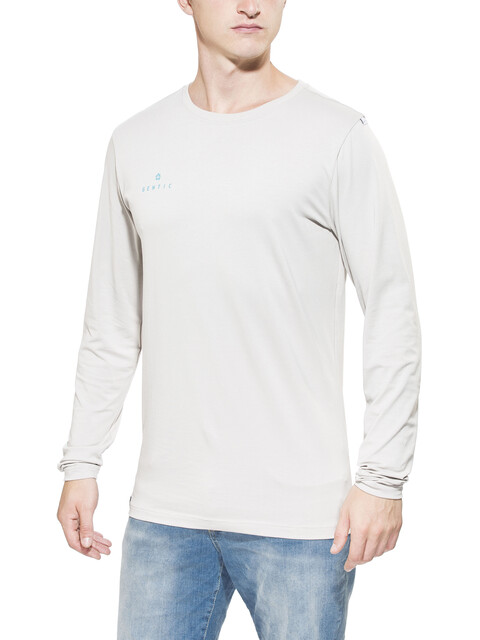 Gentic Lines Game - T-shirt manches longues Homme - beige